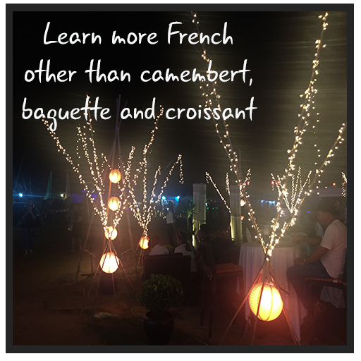 Learn more French other than camembert, baguette and croissant